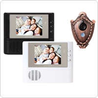 2.8 Inch LCD Door Bell Viewer Digital Monitor Peephole Security Cam Camera with Night Vision Video