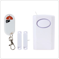 Wired Home Door Window Magnetic Entry Security Alarm with Remote Control