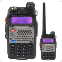BAOFENG UV-5RD+ VHF / UHF 136-174 / 400-520MHz Walkie-talkie + Dual Watch & Reception Supported