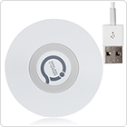 Qi-Enabled 2-in-1 Wireless USB Charger Transmitter Pad for Nexus / for HTC / for Samsung