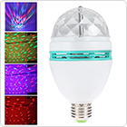 Mini RGB Crystal Rotating Lamp with E27 Base for Disco DJ