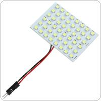 4W 48 SMD 3528 LED Reading Panel Pure White Car Interior Dome Light