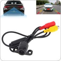 E306 18mm Color CCD Outside & Water Resistant Car Rear View Camera