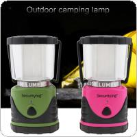 SecurityIng Portable Outdoor LED Lantern Ultra Bright 12LED 300lm 3 Modes Battery Powered Shockproof Waterproof Camping Lanterns for Hiking, Outages, Hurricanes
