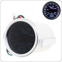 "2"" 52mm Car Universal Smoke Len LED Water Temperature Gauge Meter"