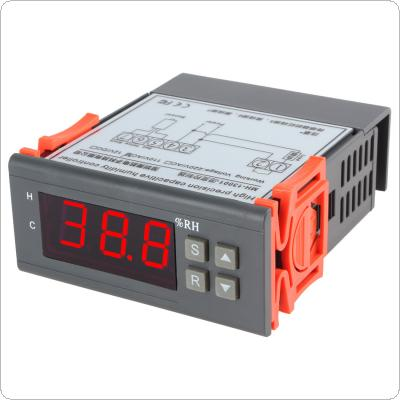 AC 110V Digital LCD Air Humidity Controller Measuring Range 1% ~ 99% with Sensor