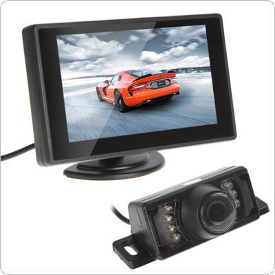 4.3 Inch TFT LCD Rear View Monitor and Night Vision Car Reverse Backup Camera