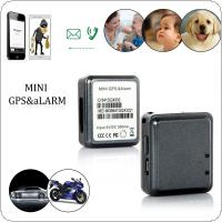 RF-V8 Super Mini GPS Real-time Tracker & Anti-theft Alarm with Lanyard