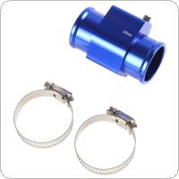 Water Temperature Temp Sensor Guage Adapter 36mm Aluminium with Clamps