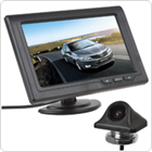 4.3 Inch 480 x 272 Color TFT LCD Screen Multi Role Display Car Rear View Monitor + E335 170 Degree Night Vision Car Rear View Camera