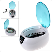 Professional Digital Ultrasonic Jewelry & Eyeglass Cleaner Cleaning Machine with Time Setting