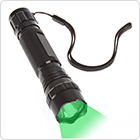 300LM 501B Green LED Light Flashlight Torch for Outdoor / Camping