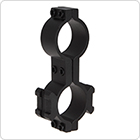 Brinyte 25mm Rail Mount with 2 Ring Holes Black and Sturdy