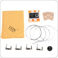 IRIN 6-in-1 Violin Fiddle Accessories Kit Instrument Accessories