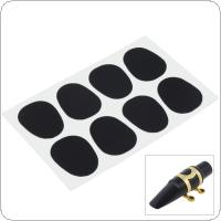8pcs Standard 0.8mm Alto Tenor Saxophone Mouthpiece Cushions