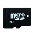2GB Class 4 Micro SD / TF TransFlash Memory Card for Cell Phones / Tablets PC