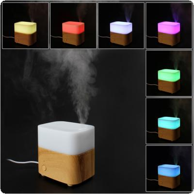 120ml Aromatherapy Essential Oil Diffuser Cool Mist Air Humidifier with 7 Color LED Lights Changing for Home Office Bedroom Room Spa Gym