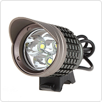 The Lamp Head of the 1500 Lumens 3 x LB-XL T6 LED Waterproof Brim Bicycle Light