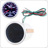 "2"" 52mm 40-150 Degrees Celsius Car Motor Indicator Oil Temp Gauge With Led Display"