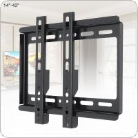 Universal TV Wall Mount Bracket for Most 14 ~ 42 Inch HDTV Flat Panel TV