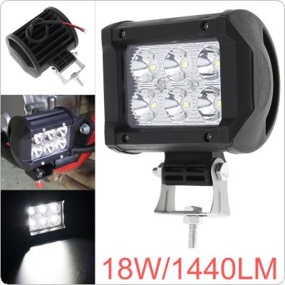 3.7 Inch 12V/24V 1440LM 18W Waterproof LED Work Light for Motorcycle / Tractor / Boat / 4WD Offroad / SUV / ATV