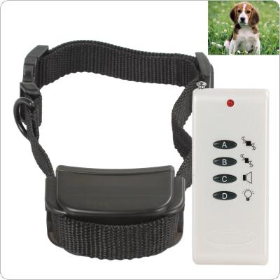 White Vibrate Remote Control Small Dog Training Collar System