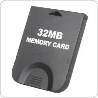 32MB Black Memory Card (507 Blocks) Designed for Nintendo Gamecube & for Wii Console System Storage GC