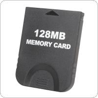 128MB Black Memory Card (2043 Blocks) Designed for Nintendo Gamecube & for Wii Console System Storage GC