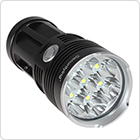 SecurityIng 4200LM 7x XM-L T6 LED Super Bright Water Resistant 3 Modes Flashlight
