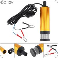 12V Car Truck  Fuel Water Oil Submersible Pump With Switch