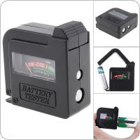 Universal Battery Tester for  AA / AAA / D / 9V Battery / 1.5V Button Cells Battery