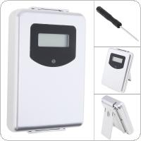 433MHz Wireless Weather Station Digital Thermometer Humidity Sensor