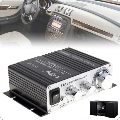 Mini 700W Hi-Fi 12V Stereo Amplifier MP3 Motorcycle Car Amp for iPod