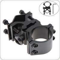 25mm Ring and 20mm Rail Mounted Flashlight Bracket