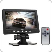 7 Inch 800 x 480 Color TFT LCD Screen AV HDMI VGA Car Rear View Monitor