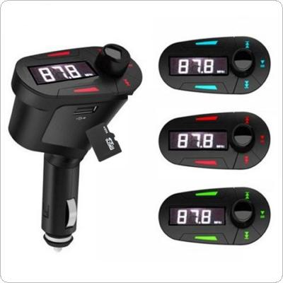 Car Kit MP3 Player Wireless FM Transmitter Modulator LCD USB SD MMC with Remote Control