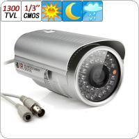 1300TVL 1/3 CMOS CCTV Surveillance Home Security Waterproof Outdoor 6mm Len Day & Night 36 IR LEDs Camera