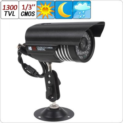 HD 1300TVL 36IR 3.6mm LEDs CMOS CCTV Security Camera Waterproof Day Night Camera with Sony Sensor