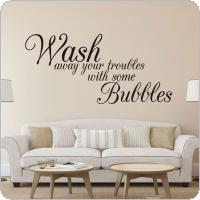 English Quote Wall Decal for Home Removable Waterproof Living Room Home Wall Sticker Home Decor
