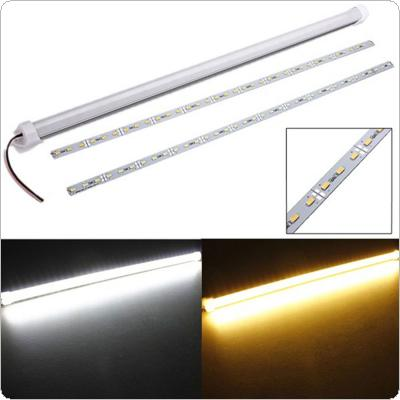 50cm DC 12V 11W 5630 SMD 36 LED Rigid Strip Cabinet Light with Cover and Plastic Mount