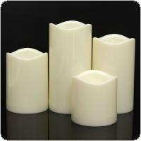 Cylindrical Flickering LED Candle Light Flameless forGarden Yard / Christmas Lamp Decoration