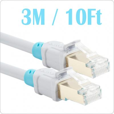 Vention CAT6 Shielded Twisted Pair Ethernet Network Cable 3m RJ45 Patch LAN Cord