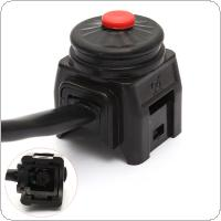 Universal Kill Stop Switch Horn Button for Motorcycle Pit Quad Bike