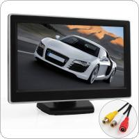 5 Inch TFT LCD Digital Car Rear View Monitor LCD Display for VCD / DVD / GPS / Camera