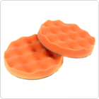 2Pcs Honeycomb Car Foam Sponge Polishing Buffing Pad