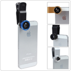 3 in 1 Fisheye & Macro Len & Wide Angle Clip Lens for Apple iPhones / HTC / LG / Blackberry/ Samsung / Nokia / Sony-Ericsson