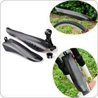 ROBESBON Cycling Mountain Bike Bicycle Front Rear Black Tire Mudguards Mud Guard Mudapron Set