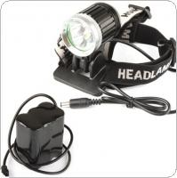 3 x XM-L T6 1800Lm LED Headlamp / Bicycle Light + 6600mAh Battery Pack