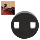 Black Round Rubber Cello Mute
