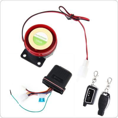 FEYCH Motorcycle Motorbike Scooter Anti-theft Security Remote Vibration Sensor Alarm   MTF02